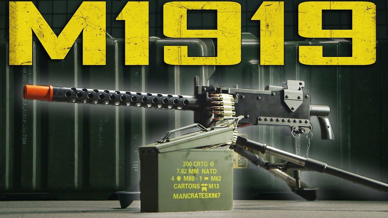 Mengenali Karakteristik M1919 dari Majalah Recoil