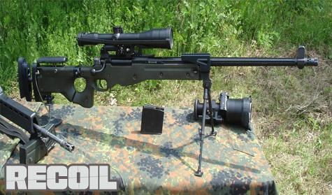 Review Senapan Sniper Accuracy International AW